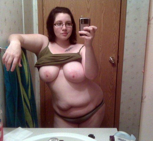 Grosse femme en chaleur