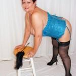 Belle femme en lingerie